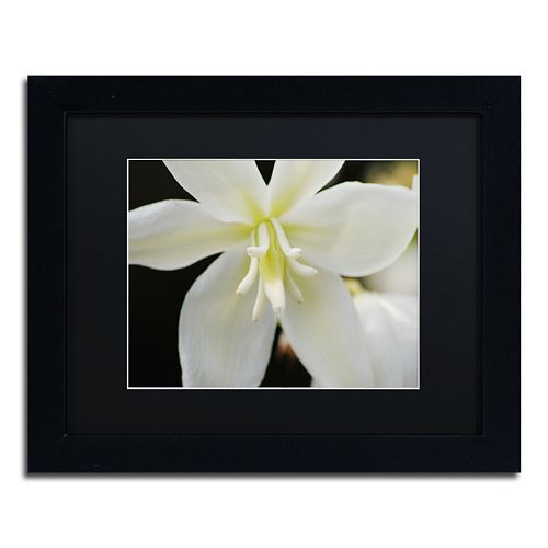 Trademark Fine Art Hope Black Framed Wall Art