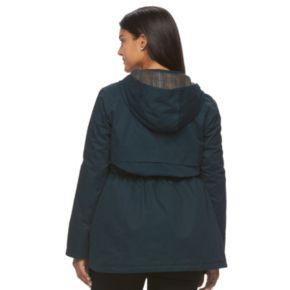 Plus Size MO-KA Hooded Anorak Jacket