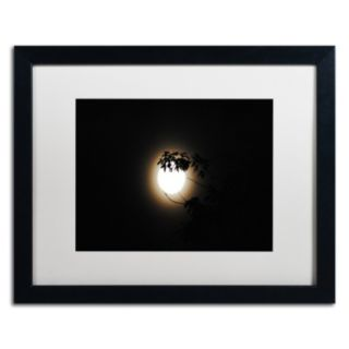 Trademark Fine Art Howl Black Framed Wall Art