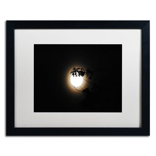 Trademark Fine Art Howl Black Framed Wall Art