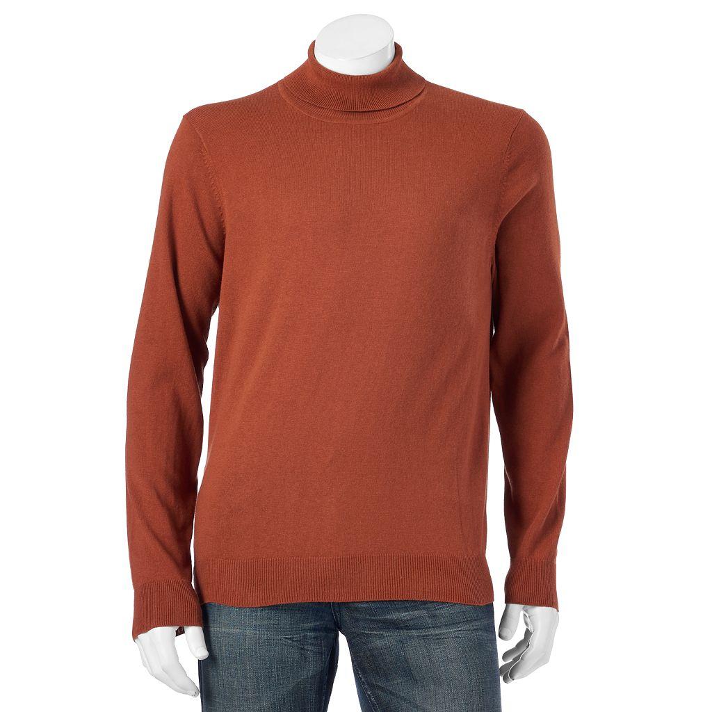 Men's Croft & Barrow® Classic-Fit Turtleneck Sweater