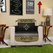 New Orleans Saints Quilted Chair Cover