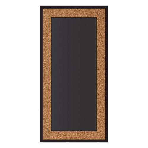 New View Cork Edge Chalkboard Wall Decor
