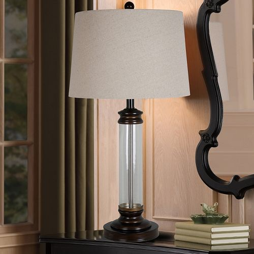 Catalina Antique Bronze Finish LED Table Lamp