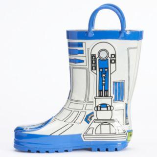 Western Chief Star Wars R2-D2 Boys' Waterproof Rain Boots