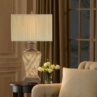Catalina Wrapped Leaf Table Lamp