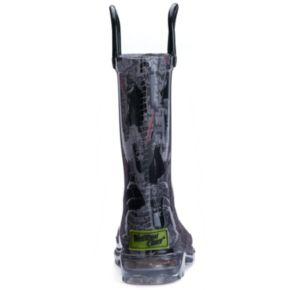 Western Chief Star Wars Dark Side Toddler Boys' Light-Up Waterproof Rain Boots