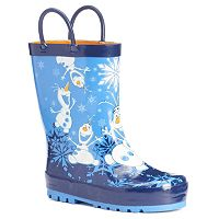Western Chief Disney's Frozen Olaf Toddler Boys' Waterproof Rain Boots