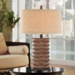 Catalina Rustic Bronze Finish Table Lamp