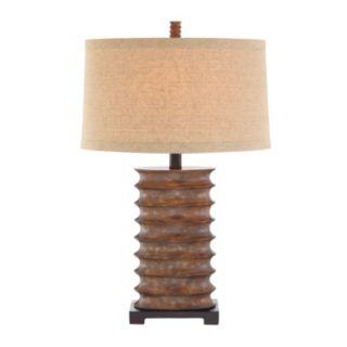 Catalina Rustic Bronze Finish Table Lamp