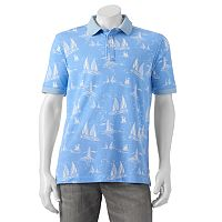 Men's Caribbean Joe Classic-Fit Nautical Polo