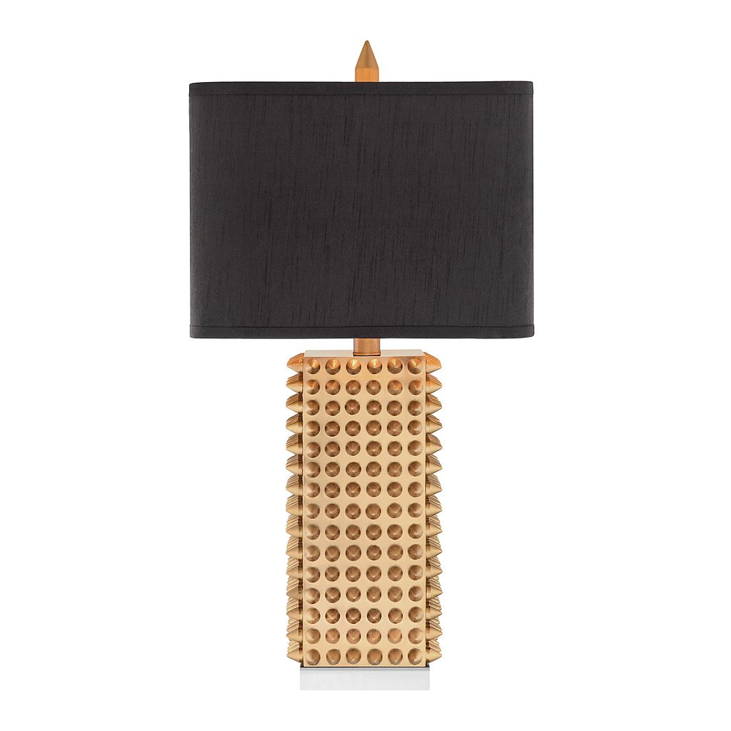 Catalina Gold Finish Spiked Table Lamp