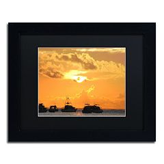 Trademark Fine Art Kipona Aloha Black Framed Wall Art