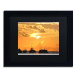 Trademark Fine Art Kipona Aloha Black Framed Wall Art