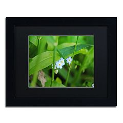Trademark Fine Art Limited Perfection Black Framed Wall Art