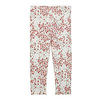 Toddler Girl Burt's Bees Baby Organic Pattern Leggings