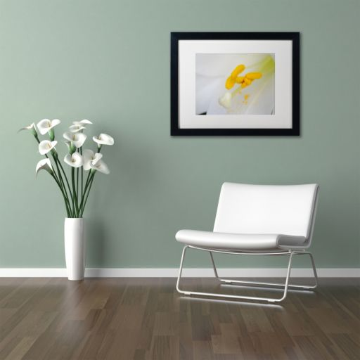 Trademark Fine Art Lucky Lasting Black Framed Wall Art