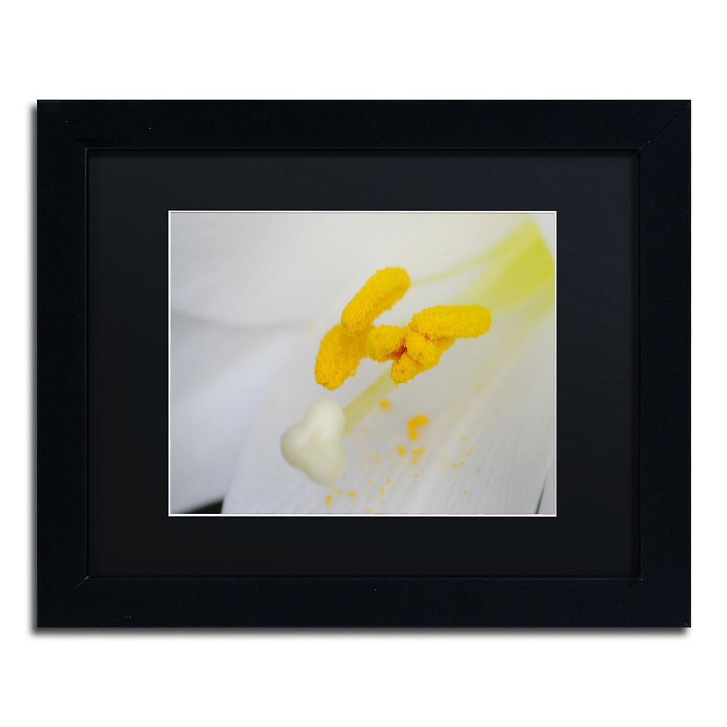 Trademark Fine Art Lucky Lasting Black Framed Wall Art