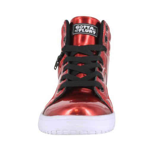 Gotta Flurt Gamma II Women's High-Top Dance Shoes