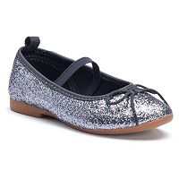 OshKosh B'gosh® Toddler Girls' Glitter Ballet Flats