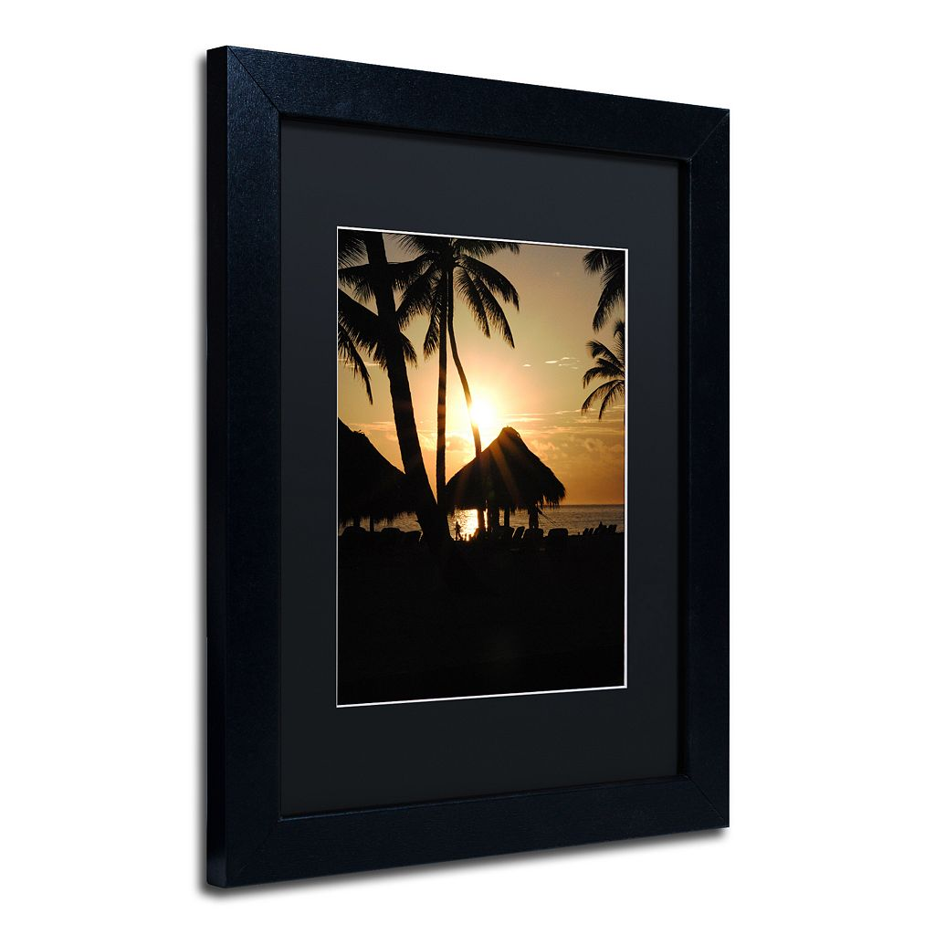 Trademark Fine Art Magical Black Framed Wall Art