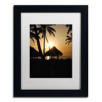 Trademark Fine Art Magical Black Framed Wall Art