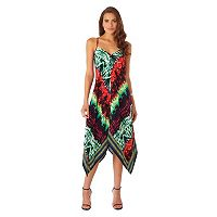 Women's Indication by ECI Tie-Dye Handkerchief Dress
