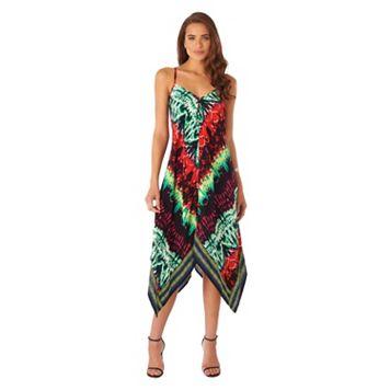 Women's Indication by ECI Tie-Dye Handkerchief Dress