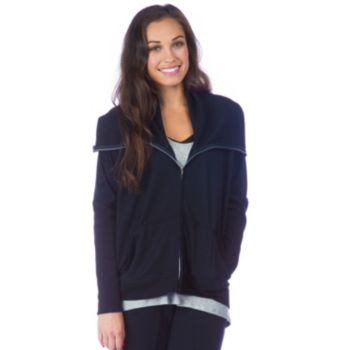 Women's PL Movement by Pink Lotus Cocoon Zip Up Jacket