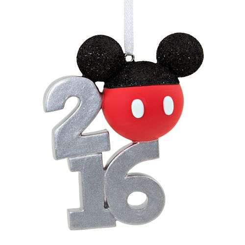 Disney's Mickey Mouse Ears 2016 Christmas Ornament by Hallmark