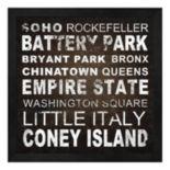 Metaverse Art New York Places II Framed Wall Art