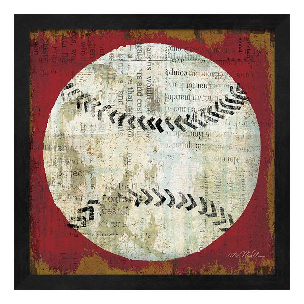 Metaverse Art Ball I Framed Wall Art
