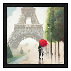 Metaverse Art Paris Romance II Framed Wall Art