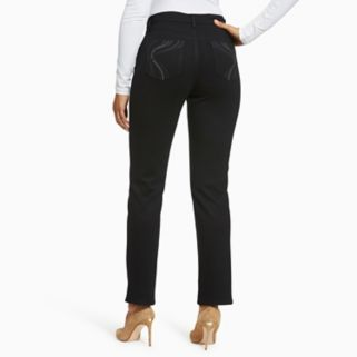 Women's Gloria Vanderbilt Amanda Slimming Tapered Ponte Pants