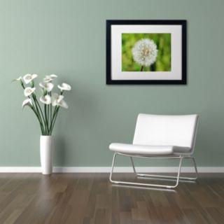 Trademark Fine Art Make a Wish Black Framed Wall Art