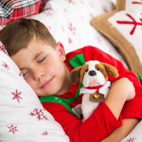 The Elf on the Shelf® Elf Pets®: A Saint Bernard Tradition Book & St. Bernard Set