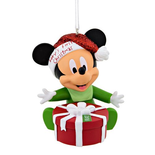 disneys mickey mouse babys first 2016 christmas ornament by hallmark