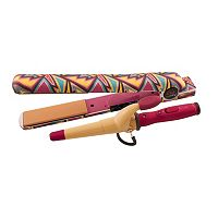 CHI Air 1-in. Classic Tourmaline Ceramic Hairstyling Iron & Mini Tapered Wand