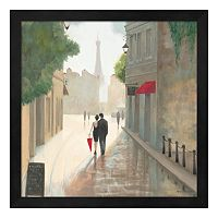 Metaverse Art Paris Romance I Framed Wall Art