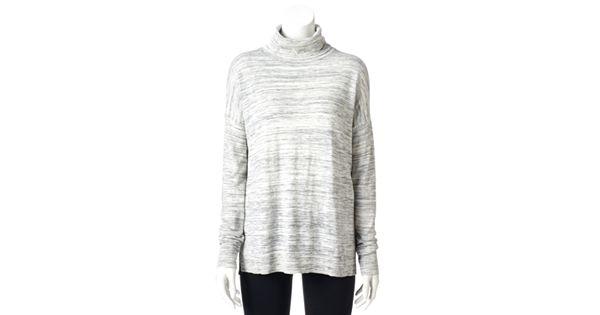 Women S Sonoma Goods For Life Boxy Turtleneck Sweater