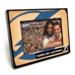 """Tampa Bay Lightning Vintage 4"""" x 6"""" Wooden Frame"""