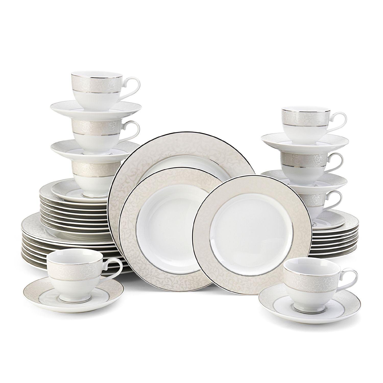 sc 1 st  Kohl\u0027s & Mikasa Parchment 40-pc. Dinnerware Set