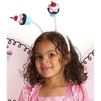 Kids Cupcake Fairy Costume Headband