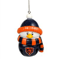 Forever Collectibles Chicago Bears Penguin Bell Christmas Ornament