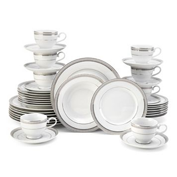 Mikasa Platinum Crown 40-pc. Dinnerware Set