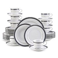 Mikasa Platinum Crown Cobalt 40-pc. Dinnerware Set