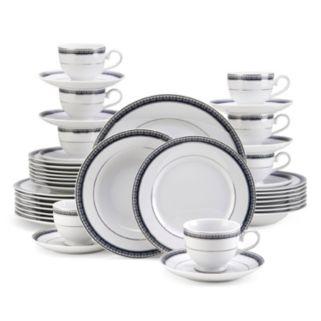 Mikasa Platinum Crown Cobalt 40-pc. Dinnerware Set