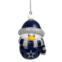 Forever Collectibles Dallas Cowboys Penguin Bell Christmas Ornament