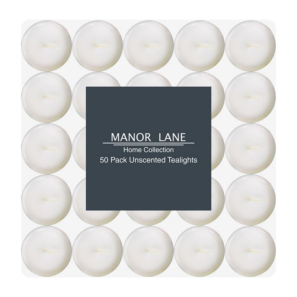 Manor Lane White Tealight 50-piece Set
