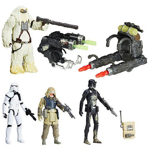 Star Wars Rogue One Battle 4-Pack Figurine Set